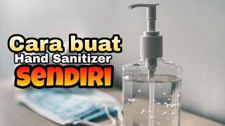 Cara buat hand sanitizer sendiri mudah alami ll