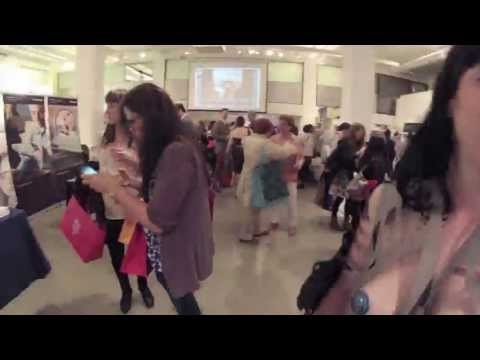 Paper Expo 2013 at the Art Director's Club in NYC: TImelapse of Paper Burlesque Hijack!