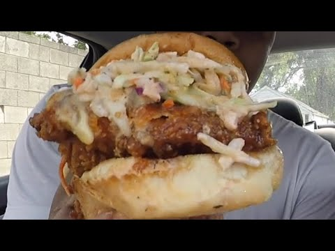 Detroit Bring's The Heat With The Spicy Gripper Sandwich | Durden's Catering | MAM Eating Show