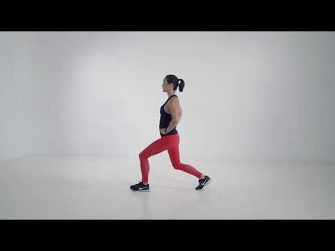 Walking lunges (bodyweight)