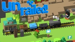 Unrailed! Riding the Rails with Reptar (Multiplayer Endless Mode)