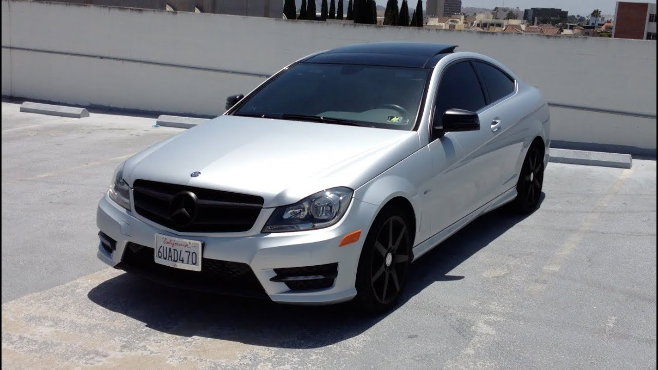 My 2012 Mercedes Benz C250 Coupe Walk Around Review
