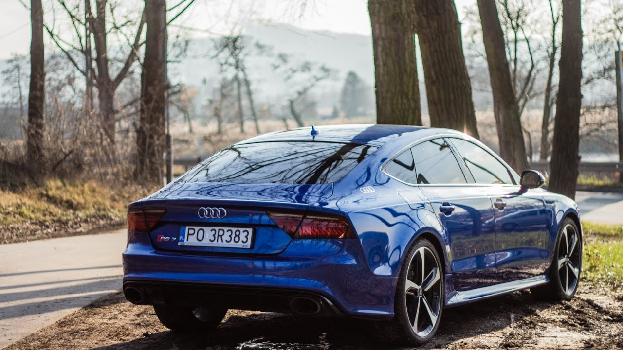 טוב מאוד 2017 Audi RS7 Performance 605HP - start-up, launch control, sound LI-54