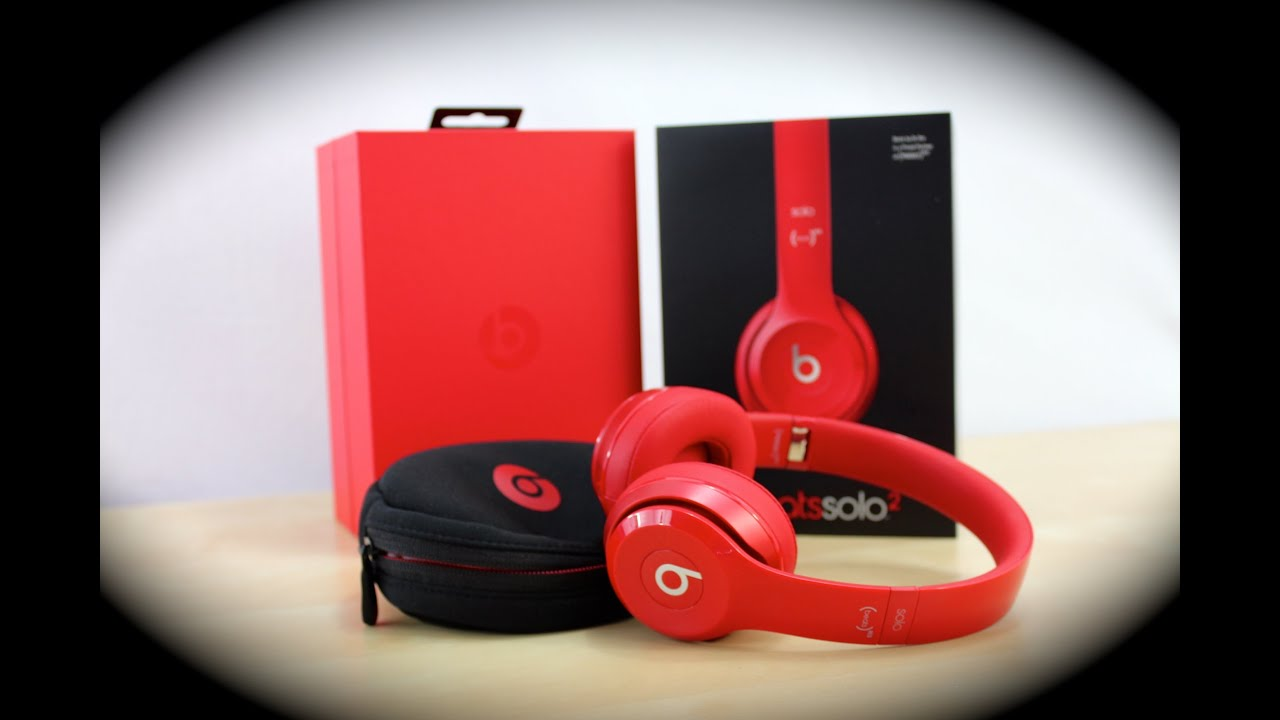 Beats Solo 2 Red And Black