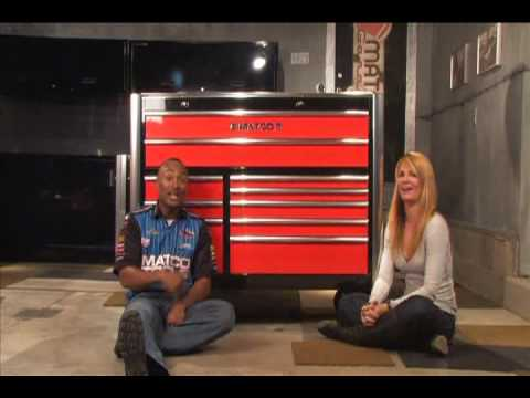 Matco Tools two tone tool box - YouTube