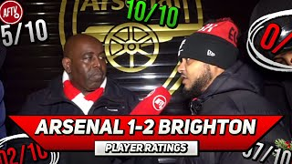 Arsenal 1-2 Brighton | Player Ratings Ft Troopz