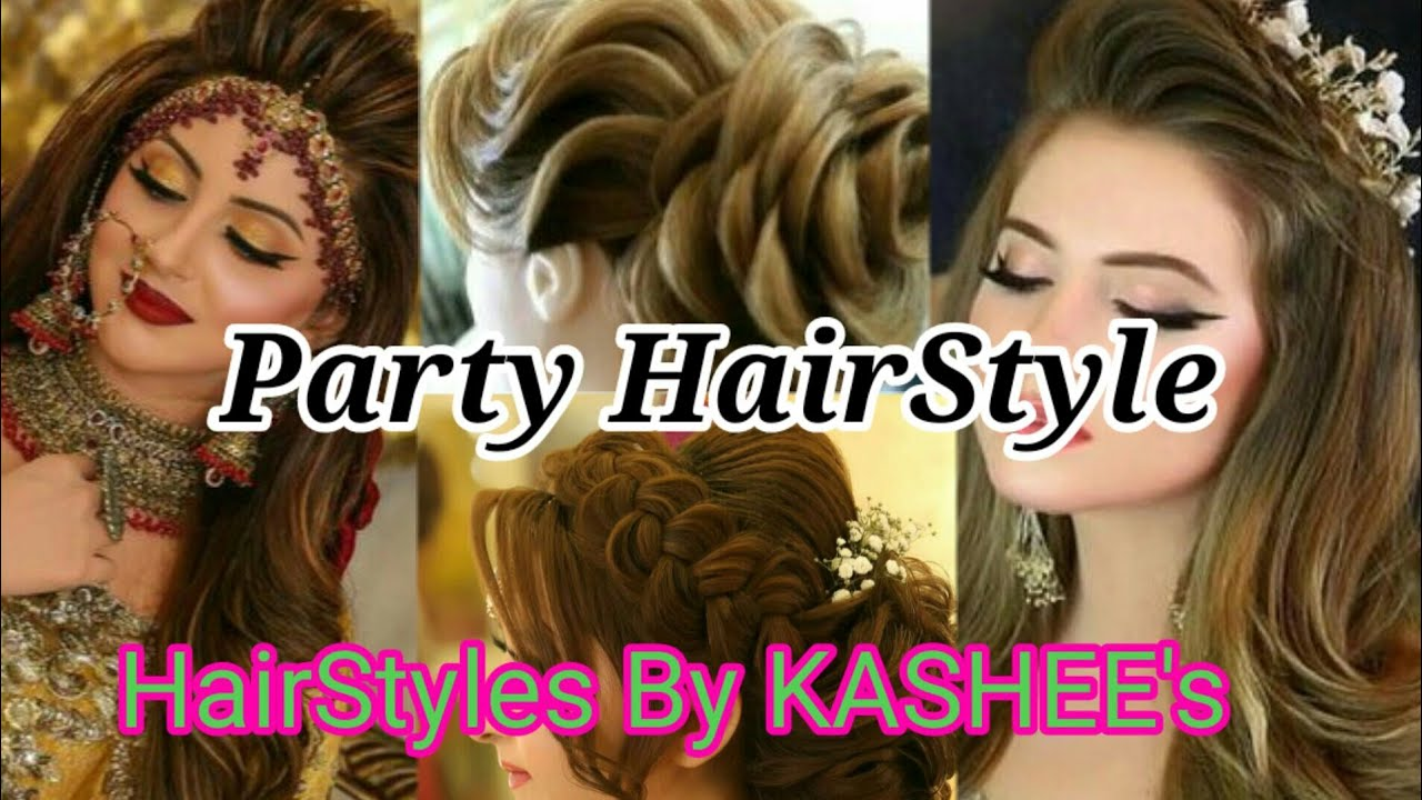 Top Trending Party Hairstyle By Kashee S Cheer Up Life Youtube