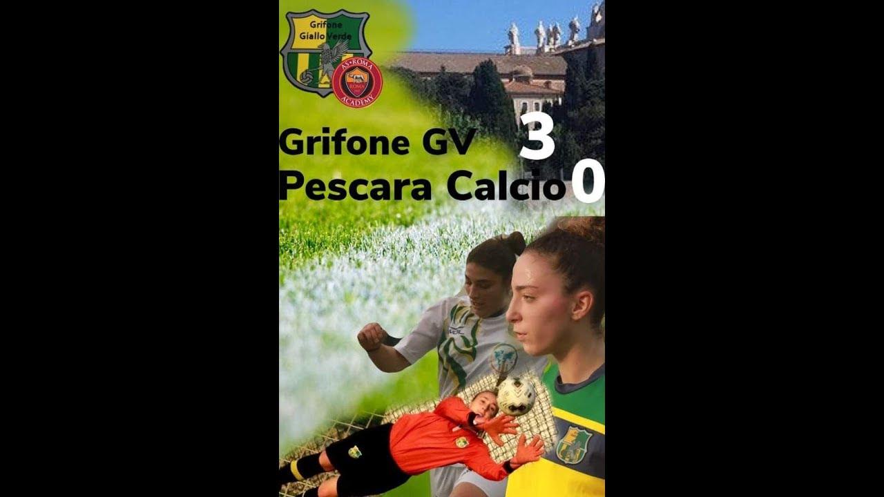 Grifone GV - Pescara CF 3-0