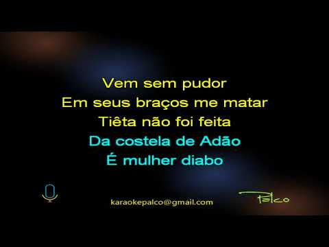 Luiz Caldas   Tieta - Karaokê