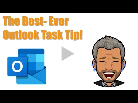 The One Outlook Task Tip Everyone Must Do!
