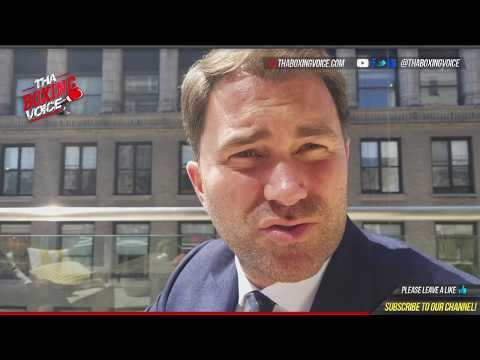 👀(EXCLUSIVE) Eddie Hearn Sit-Down Interview: BREAKS DOWN $50 MILLION OFFER🔥