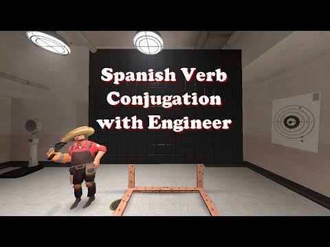 Spanish Verb Conjugation with Engineer - TF2 GMod Short