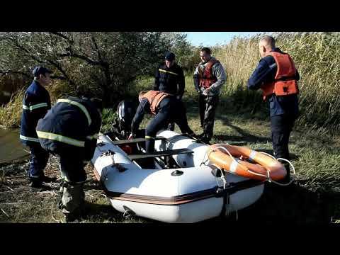 MYKOLAIV DSNS: Рятувальники транспортували на берег 2 людей, яких віднесло від берега на човні