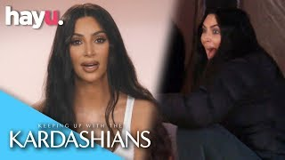 Can Kim K & North West 'Rough It' Camping? | Season 16 | Keeping Up With The Kardashians