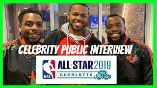 NBA All-Star Charlotte 2019 Celebrity Interview (ft. Filayyyy, CashNasty, TwanDaDude, etc.)