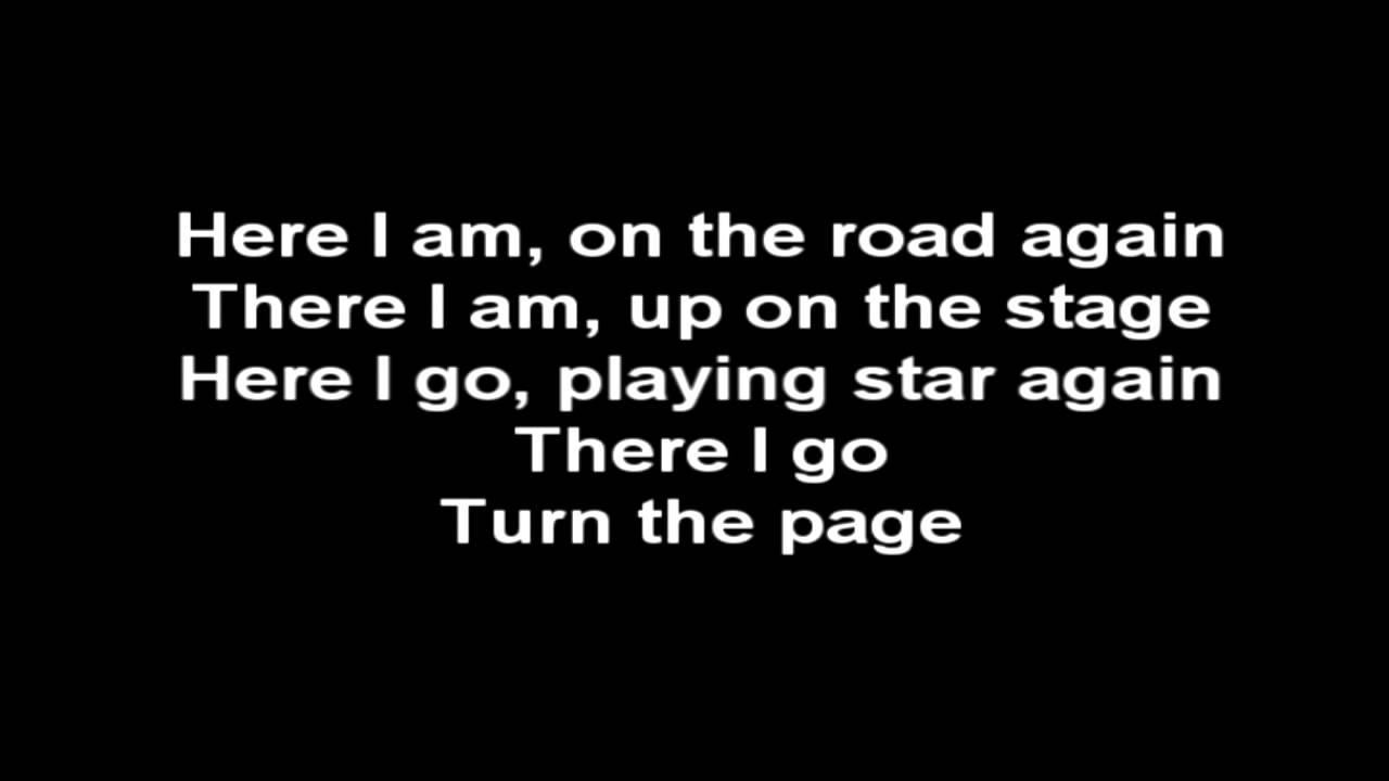 how to play turn the page youtube