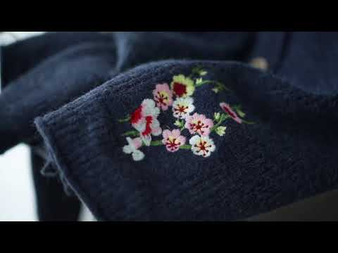Áo Khoác Cardigan Nữ AKira Len Thêu Hoa Len Cao Cấp Nhiều Màu Freesize Phong Cách Nhật Bản