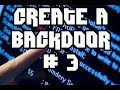 The dark side of Python #1 : Create a backdoor - part 3 -