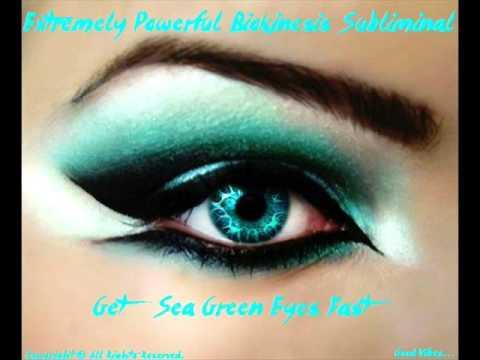 Extremely Powerful Biokinesis 1 hr-Get Sea Green Eyes ...