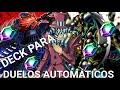 Deck para duelos automáticos, consigue gemas rápido - YU-GI-OH DUEL LINKS!!!