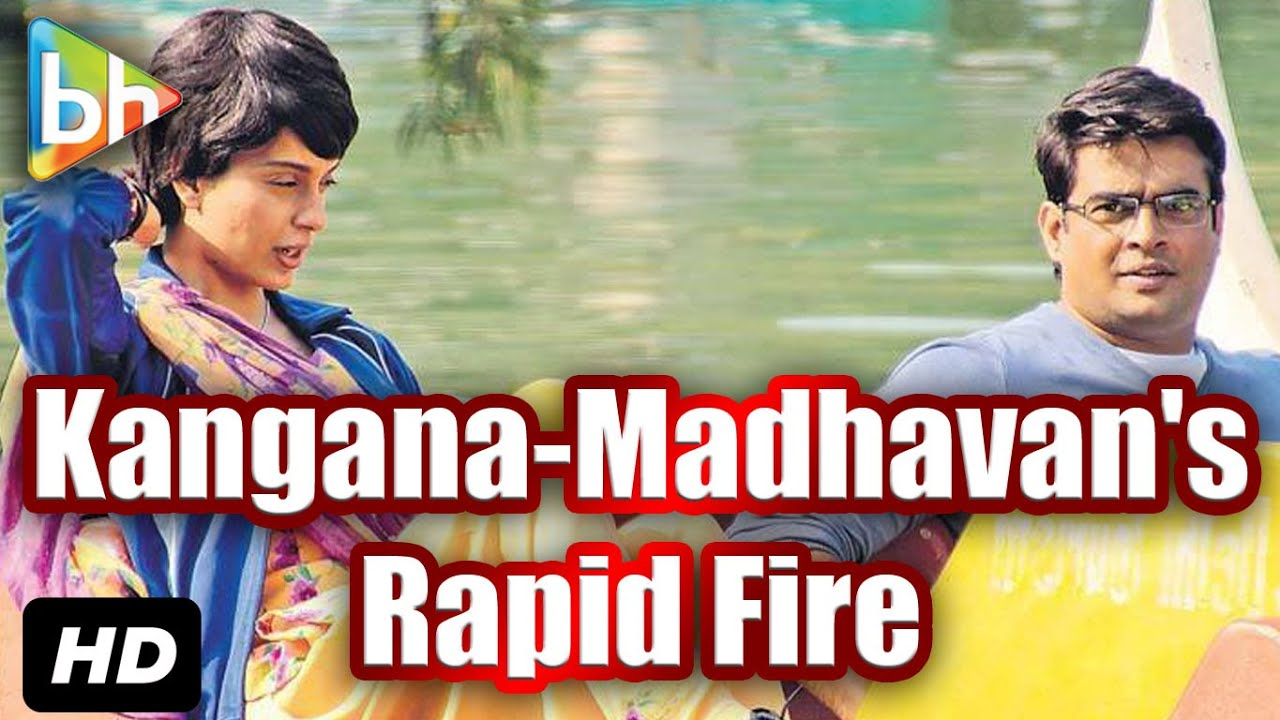 Download Rapid Fire With R Madhavan & Kangana Ranaut   Bollywoodhungama