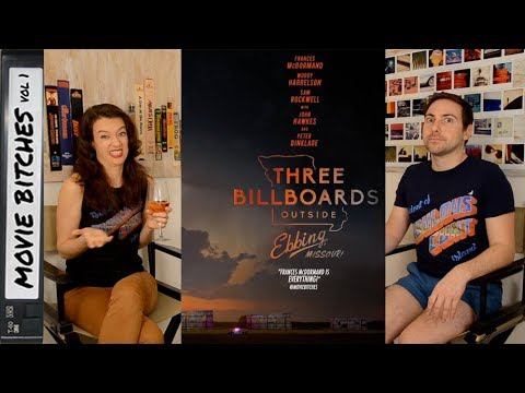 Three Billboards Outside Ebbing Missouri | Movie Review | MovieBitches Ep 178