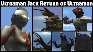 Ultraman Jack PS2 (Return of Ultraman Mode) Compilation HD