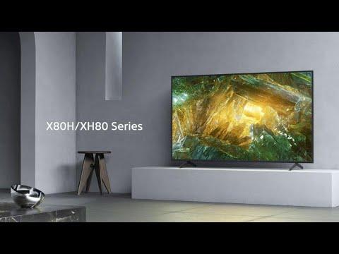 Sony - BRAVIA - X80H/XH80 Series - 4K HDR TV