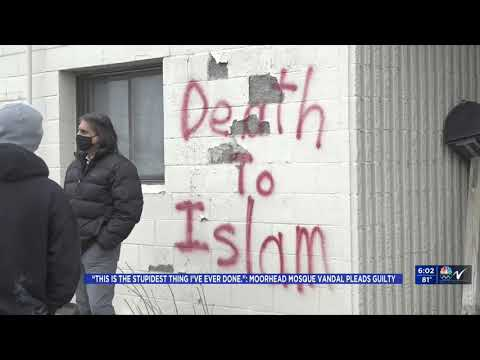 Video: CAIR-MN Calls on FBI to Probe Potential Threat After Mosque Vandal Linked to Hate Group