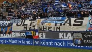 Derby: SV Waldhof Mannheim vs. Karlsruher SC 23.03.2013