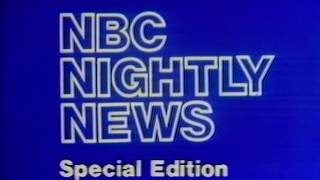 NBC Network - NBC Nightly News - Special Edition (Complete Network Broadcast, 11/20/1977)