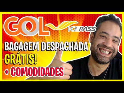 VOE GOL + VOE PASS! SUPER PARCERIA COM BAGAGEM DESPACHADA E COMODIDADES!