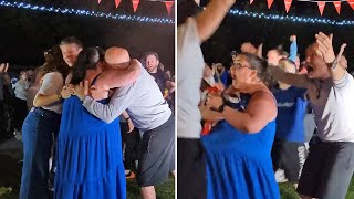 video: Exuberant celebrations of Tom Dean's family back home a reminder of those missing out on shared moment of glory