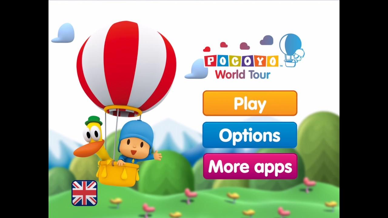 Pocoyo World Tour Free Game Youtube