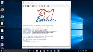 How to Install Emacs on Windows 10