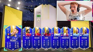 OMFG I PACKED A PRIME MOMENTS ICON!!!! FIFA 19 PL TOTS FUT CHAMPS BONANZA!!!