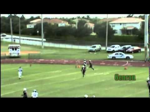#15 Justin Ferguson WR Flanagan High c/o 2012