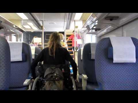 Wheelchairs Get On Amtrak