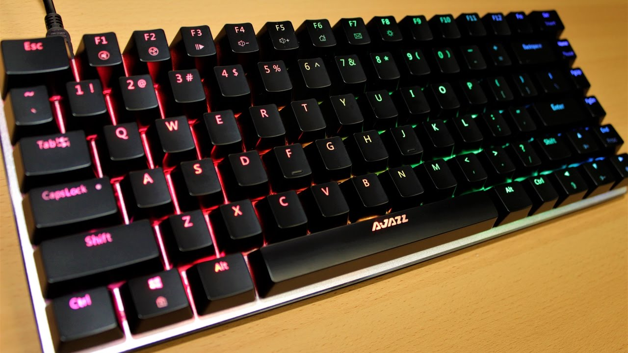 Review Ajazz Ak33 Rgb Mechanical Keyboard Back2gaming