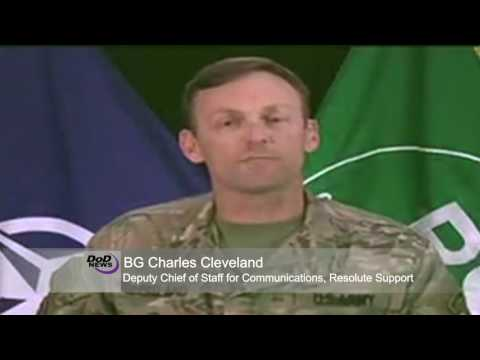 NATO News: Afghan Resolute Support Mission Spokesman Updates Reporters on Aug. 25, 2016.