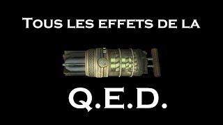 Les effets des Q.E.D.