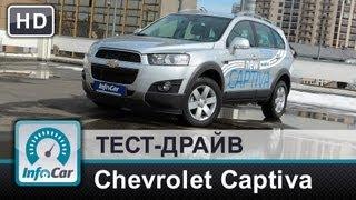 Chevrolet Captiva 2.2 Diesel 2013 - Тест-Драйв От Infocar.Ua