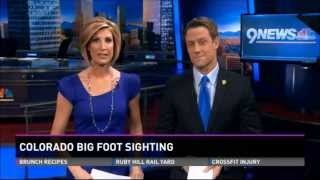 Woman Spots Bigfoot In Colorado Very Credible Incident - 1-20-14