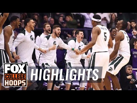 Michigan State vs Northwestern | Highlights | FOX COLLEGE HOOPS