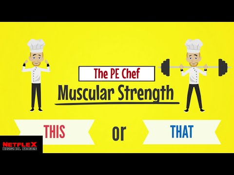 PE Chef: Muscular Strength THIS or THAT (5 Components of Fitness) Active Knowledge Check