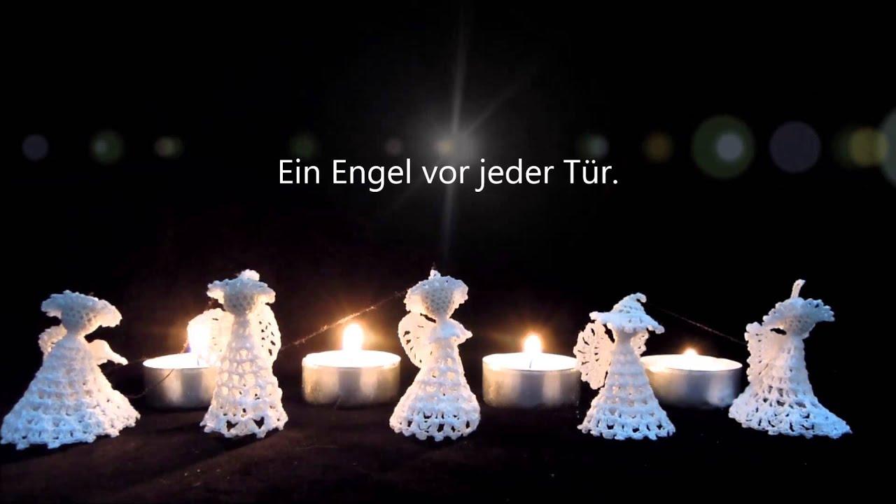 Gehäkelte Engel zum Advent - YouTube