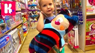 VLOG Шопинг в детском магазине покупаем игрушки Shopping in kid