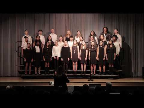 """Carnage Middle School Honors Chorus - """"Rhythm of Life"""" Spring 2018"""