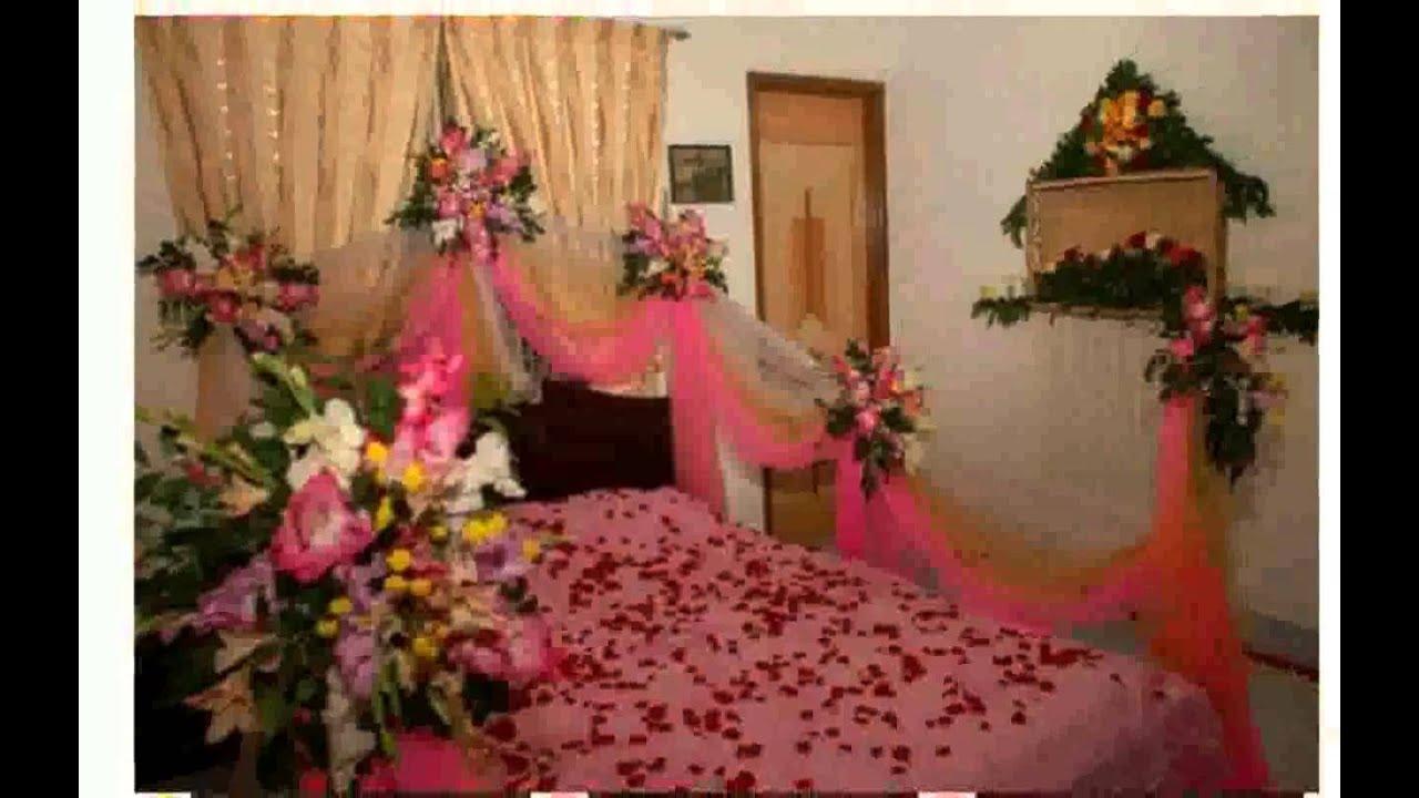 Bedroom Decoration For Wedding Night Youtube
