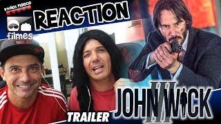 🎬 John Wick 3 - Reaction Trailer Irmãos Piologo Filmes